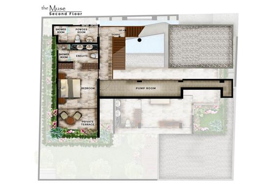 The Muse Villa Second Floor